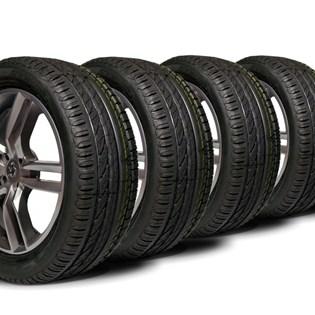 kit 4 pneu remoldado aro 17 215/45r17 strong