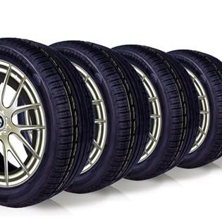 kit 4 pneu remoldado aro 17 225/45r17 ck360 cockstone