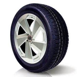 pneu aro 16 195/55r16 roda bem remold 5 anos garantia inmetro