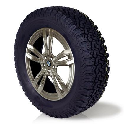 pneu aro 16 205/60r16 bf roda bem remold 5 anos garantia