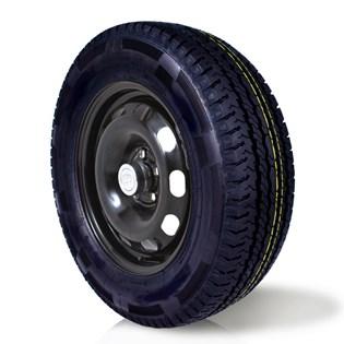pneu aro 16 205/75r16 carga 8 lonas roda bem remold 5 anos garantia
