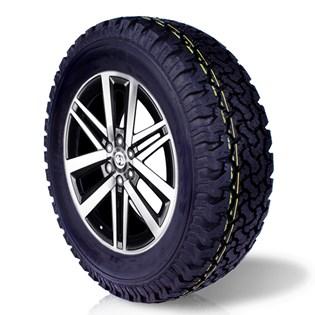 pneu aro 16 265/70r16 BF roda bem remold 5 anos garantia