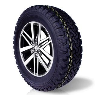 pneu aro 17 remold 265/65r17 bf ck405 cockstone